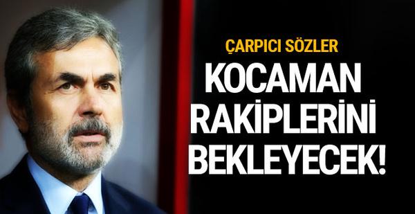 Aykut Kocaman'dan Şenol Güneş'e gönderme