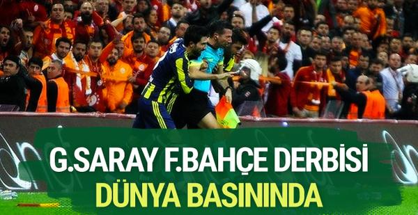 Galatasaray-Fenerbahçe derbisi dünya basınında