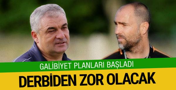 Trabzonspor-Galatasaray derbisi öncesi galibiyet planları