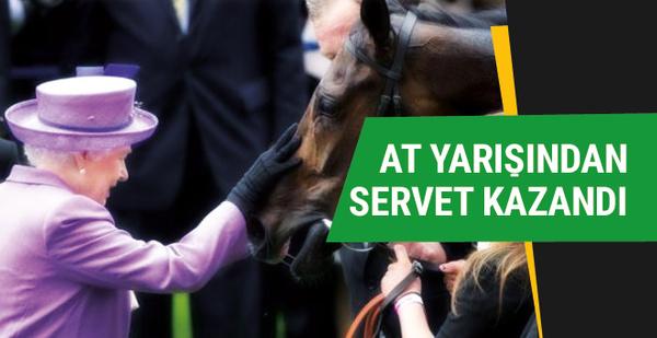 Kraliçe Elizabeth at yarışlarından milyonlar kazanıyor