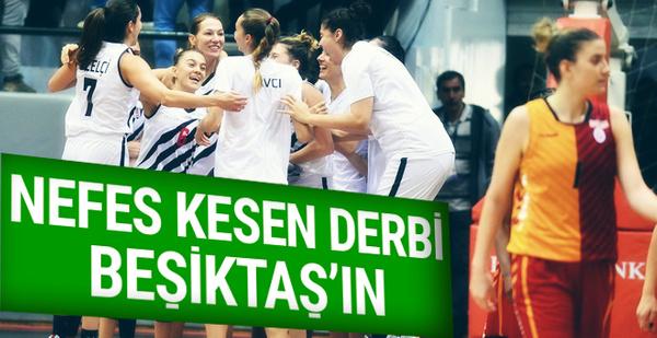 Beşiktaş derbide Galatasaray'ı devirdi
