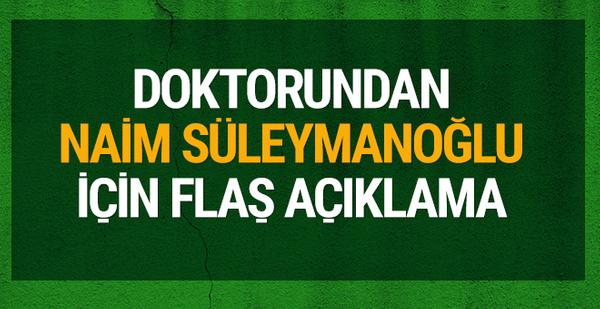 Naim Süleymanoğlu için flaş açıklama!