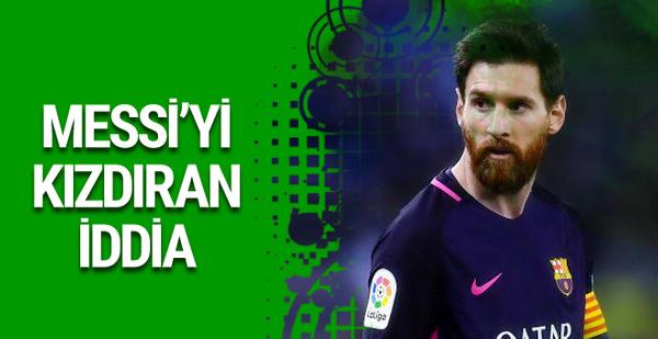 Lionel Messi'den hakkındaki iddialara cevap
