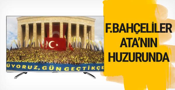 Ali Koç Fenerbahçeliler'i Anıtkabir'e götürdü