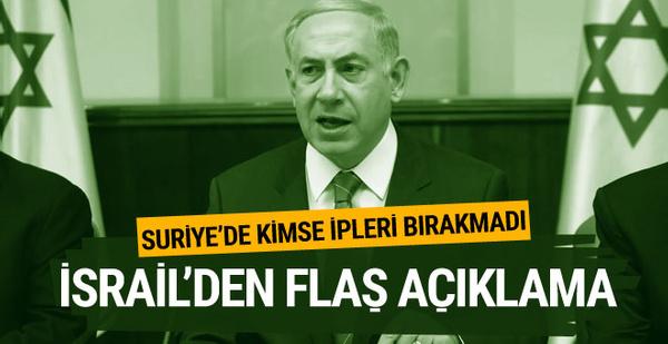 İsrail'den flaş açıklama: ABD ve Rusya'ya bildirdik
