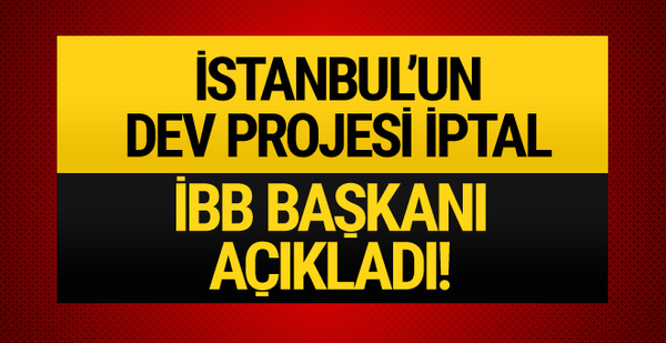İstanbul'a yapılması planlanan Havaray projesi iptal!