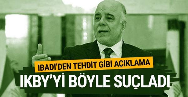 Irak Başbakanı İbadi IKBY'yi son kez uyardı