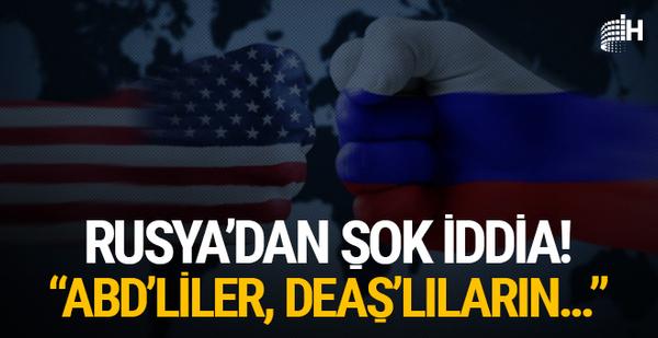 """Rusya'dan flaş iddia! """"ABD'liler, DEAŞ'lıların..."""""""