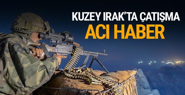 Kuzey Irak'ta Türk askerine saldırdı acı haber geldi