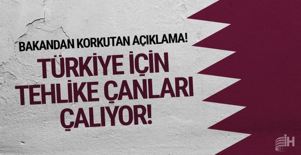 Bakandan korkutan açıklama! Türkiye için tehlike çanları çalıyor!