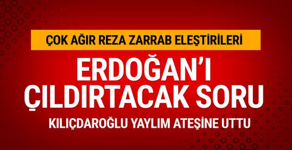 Kılıçdaroğlu'ndan Erdoğan'ı çıldırtacak soru