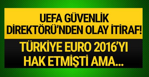 UEFA Güvenlik Direktörü'nden Türkiye için olay açıklama!