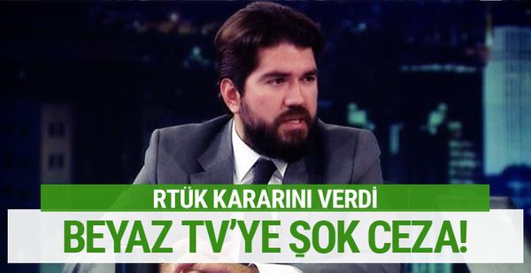RTÜK'ten Beyaz Futbol programına ceza