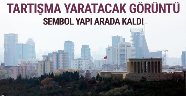 Ankara'da siluet tartışması yaratacak görüntü