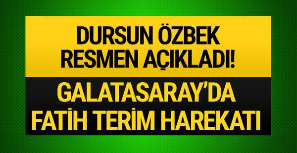 Galatasaray'da Fatih Terim harekatı!
