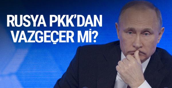 Rusya PKK'dan vazgeçer mi? İşte 7 maddede yanıtı