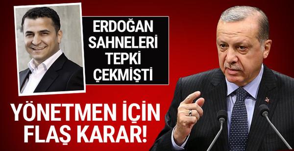 Erdoğan sahneleri tepki çekmişti! İşte Ali Avcı için istenen ceza