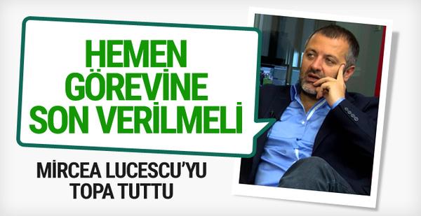 Mehmet Demirkol'dan Lucescu'ya sert eleştiri!