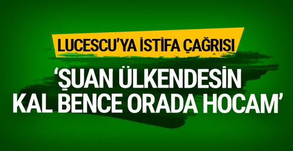 Nihat Kahveci'den Mircea Lucescu'ya istifa çağrısı