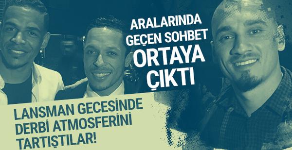 Adriano'dan Galatasaraylı Maicon ve Fernando'ya gözdağı