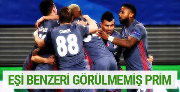 Beşiktaş'ta inanılmaz prim