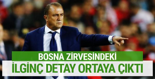 Fatih Terim ve Bosna görüşmesindeki ilginç detay ortaya çıktı!