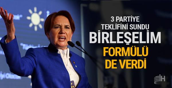 Meral Akşener'in partisinden ittifak çağrısı: Birleşelim