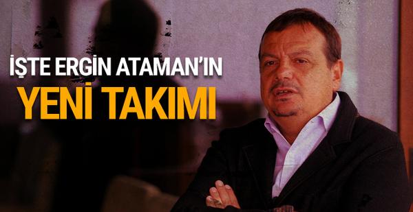 İşte Ergin Ataman'ın yeni takımı