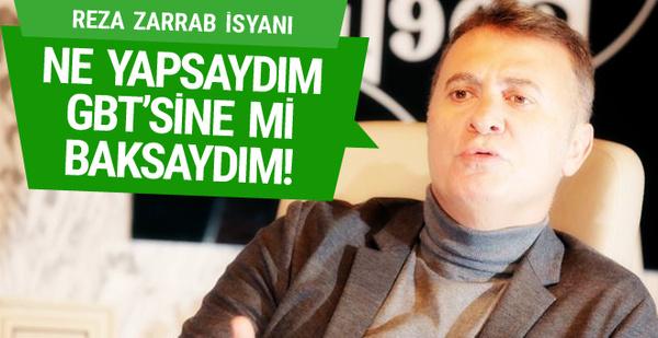 Fikret Orman: Reza Zarrab'ın GBT'sine mi baksaydım!