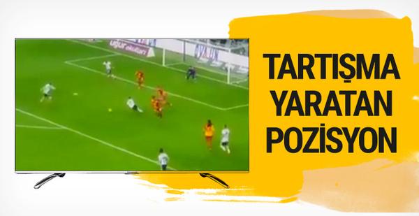 Derbiye damga vuran penaltı tartışması