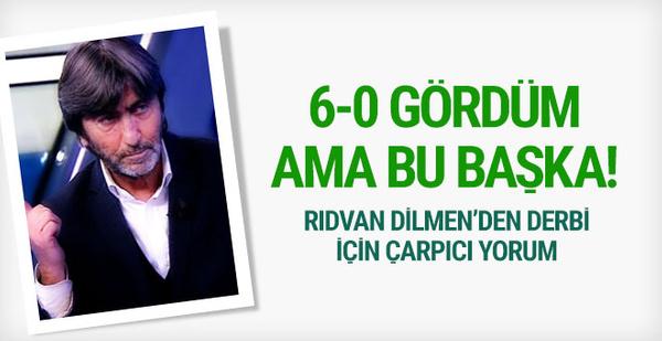 Rıdvan Dilmen'den Beşiktaş Galatasaray derbisi yorumu