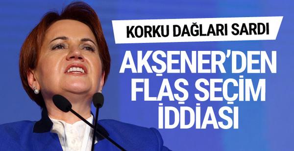 Meral Akşener'den Cumhurbaşkanlığı seçimi için flaş iddia!
