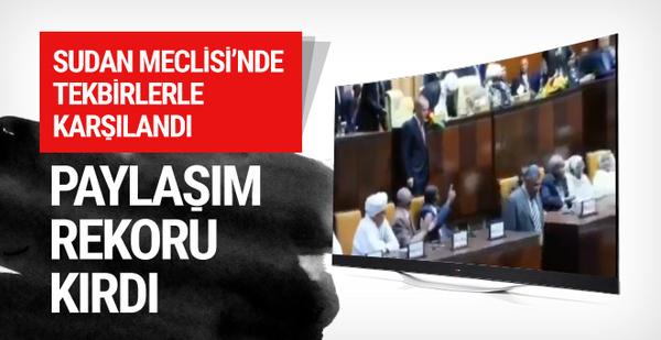 Sosyal medyada rekor kıran Erdoğan videosu