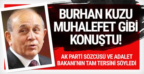Olay KHK açıklaması! Burhan Kuzu muhalefet saflarına geçti!