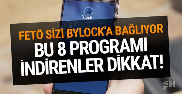 Bu 8 program gizlice Bylock'a bağlıyor! İşte Mor beyin yazılımı