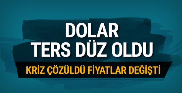 Dolar ters düz oldu! 29 Aralık 2017 dolar fiyatı