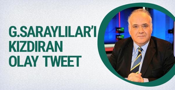 Ahmet Çakar'dan Galatasaraylıları kızdıran olay tweet!