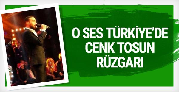 Cenk Tosun ve Yılmaz Vural O Ses Türkiye yılbaşı özel programında