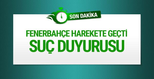 Fenerbahçe Trabzonspor'u mahkemeye verdi