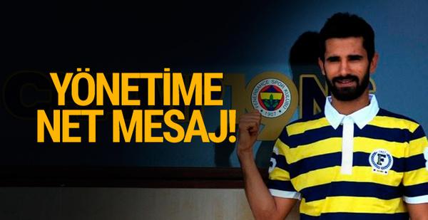 Alper Potuk'tan Fenerbahçe'ye mesaj