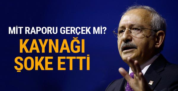 Kılıçdaroğlu'nun bomba MİT raporunun kaynağı şoke etti