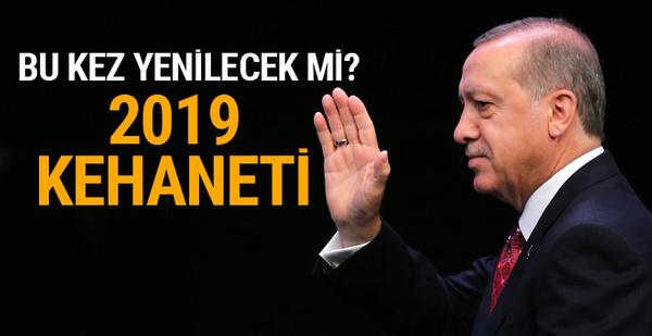 Erdoğan bu sefer yenilecek mi! 2019 kehaneti