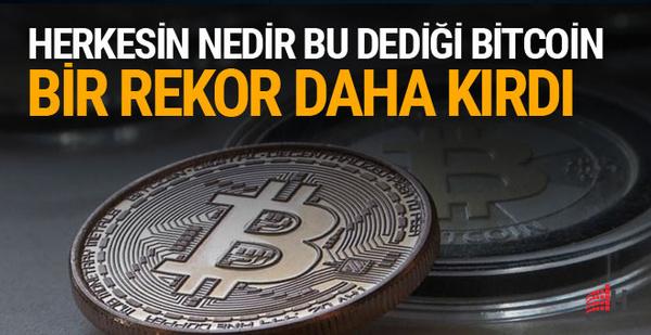 Bitcoin'den yeni rekor: 15 bin doları aştı
