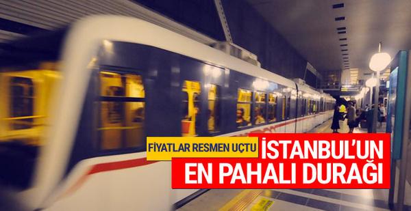 İstanbul'un en pahalı durağı fiyatlar uçtu