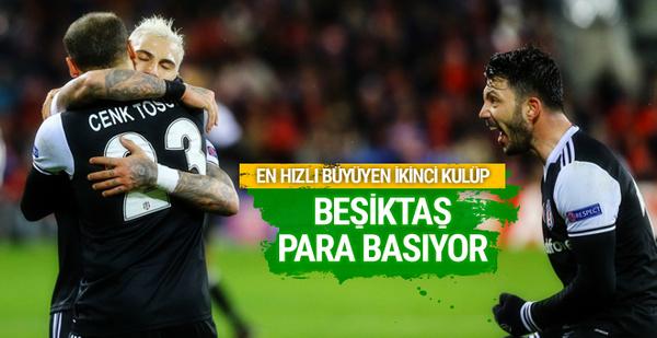 Beşiktaş resmen para basıyor!