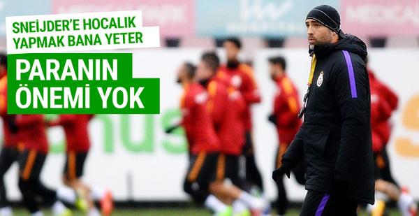 Galatasaray'ın yeni hocasının Sneijder heyecanı