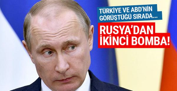 Rusya'dan ikinci bomba! Türkiye ve ABD görüşürken...