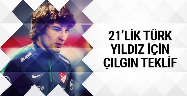 21'lik Türk yıldıza çılgın teklif