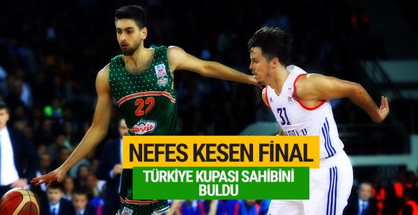 Banvit Anadolu Efes'i yenerek şampiyon oldu