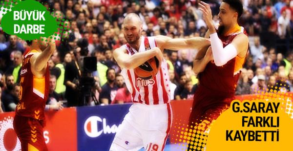 Galatasaray Kızılyıldız'a farklı kaybetti